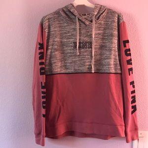 Dusty pink/gray Pink Victoria's Secret sweatshirt